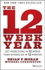 Libri di produttività e gestione del tempo - 12 week year