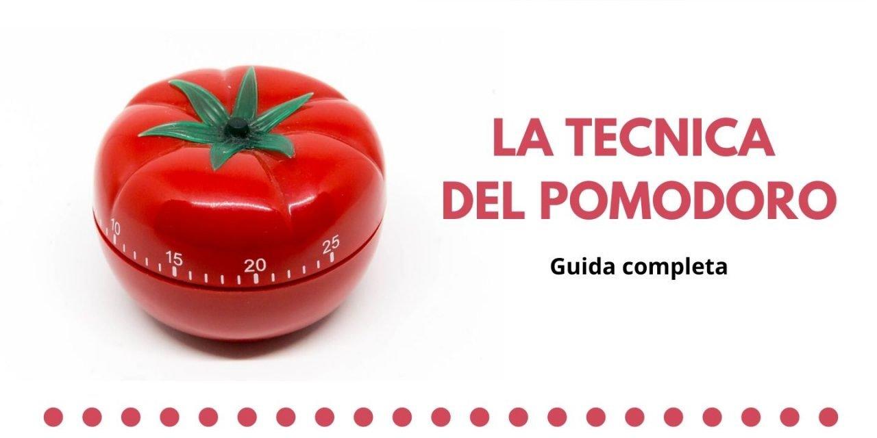 La tecnica del pomodoro: guida completa per sfruttarla al massimo